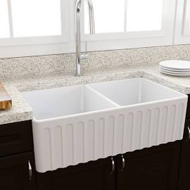 Novi Double Butler Sink - ribbed or flat - Copy