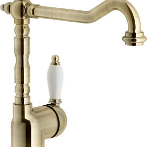 Frances Bronze Single Kitchen Mixer