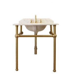Mayer 75 x 55 Brass Washstand